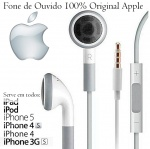 Fone de Ouvido Apple iPhone 4 4s 5 5s iPhone 6 4.7 e iPhone Plus 5.5 - Original
