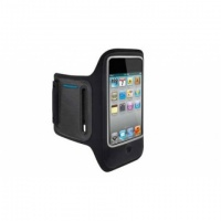 Braçadeira Celular Apple iPhone 4G 4S Nylon - Preto