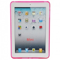 Capa Apple iPad Mini - TPU Rosa