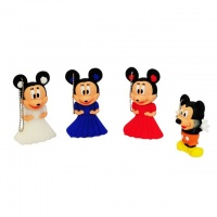 Pendrives Personalizados 4GB Disney Mickey e Minnie - Sortidos