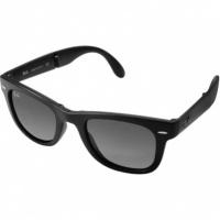 9e4d8e1cb70fa Óculos Ray Ban Wayfarer 4105 - Modelo Unissex com Armação Preta e Lentes em  Policarbonato Fumê