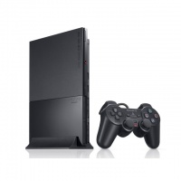 Vídeo Game Console PlayStation 2 Slim - Controle Original