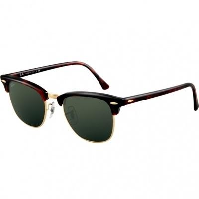 2bb8f5fb8fce1 Atacados 25    Óculos Ray Ban Clubmaster 3016 - Modelo Unissex com ...