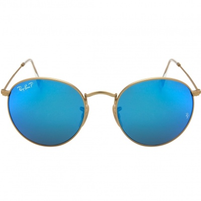 8181a89ae7ad7 562fa991ce525.jpg. Atacados 25   Moda e Acessórios   Óculos de Sol   Óculos  Femininos. Óculos Ray Ban Round RB 3517 - Modelo Unissex com ...
