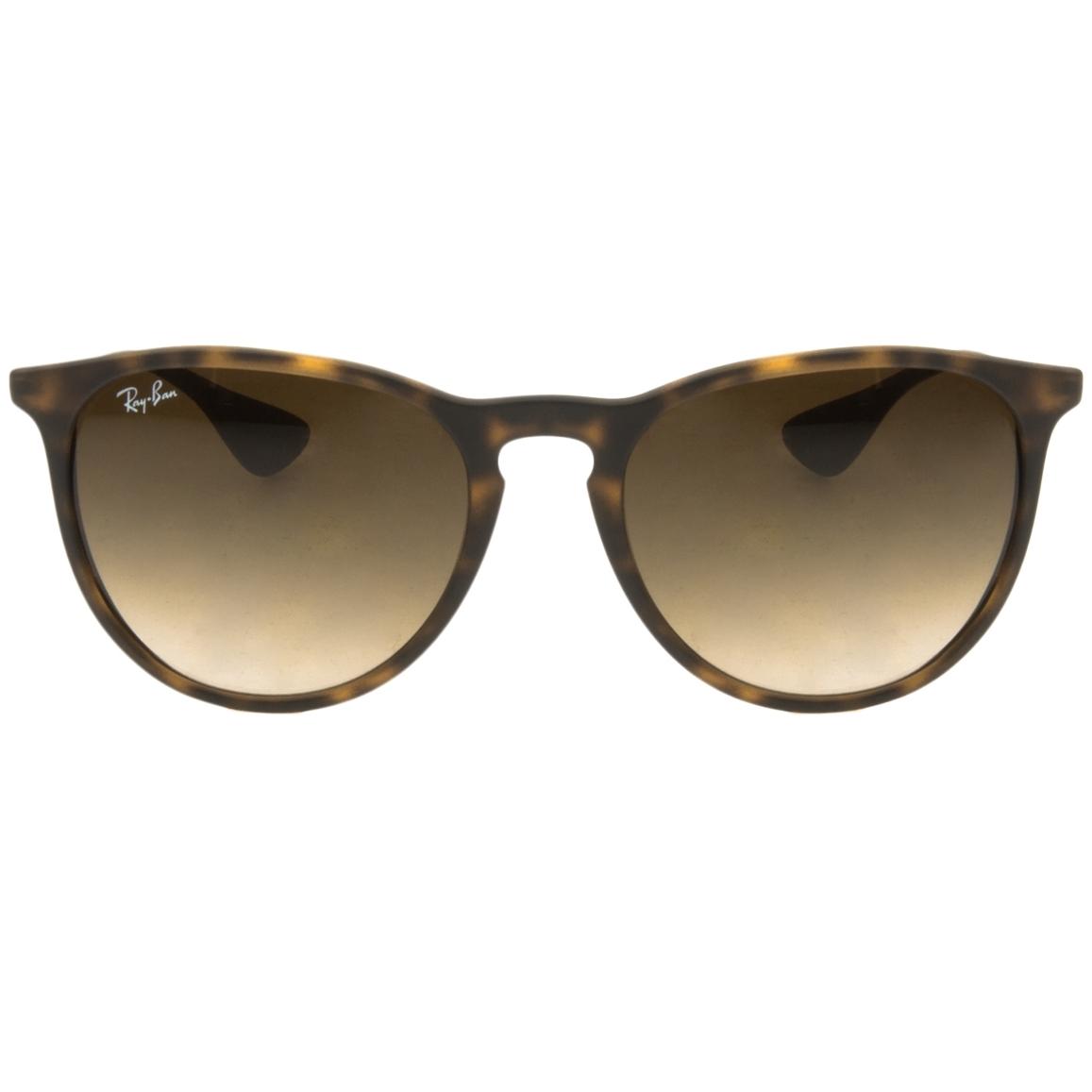 fa081c667d91f Óculos Ray Ban Erika 4171 - Modelo Feminino com Armação Marron Tartaruga e  Lentes em Policarbonato Fumê Degradê
